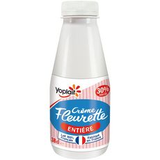 YOPLAIT Crème fraîche fleurette entière 30%MG 38cl
