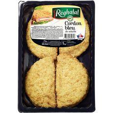 REGHALAL Cordons bleus de volaille halal 1kg