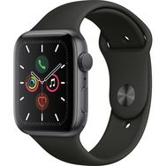 APPLE Montre connectée Apple Watch 44 mm Noir Séries 5