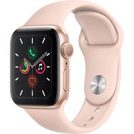 APPLE Montre connectée Apple Watch 40 mm Or Rose Séries 5