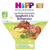 HiPP spaghetti bolognaise assiette 230g dès 12 mois