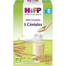 HIPP Hipp 5 Céréales bio en poudre dès 8 mois 250g 250g