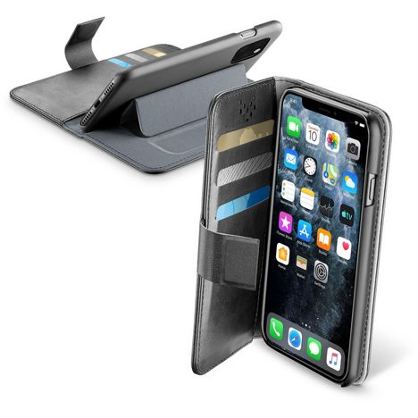 CELLULARLINE Etui Folio pour iPhone 11 Pro Max Noir
