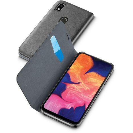 CELLULARLINE Etui Folio pour Samsung Galaxy A20E Noir