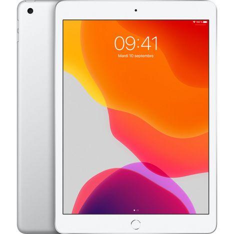 APPLE Tablette tactile iPad 7 10.2 pouces 128 Go Argent Wifi