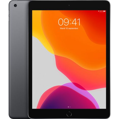 APPLE Tablette tactile iPad 7 10.2 pouces 128 Go Gris Sideral Wifi
