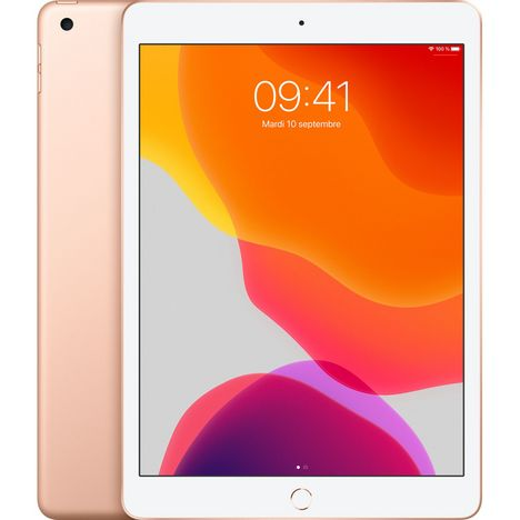 APPLE Tablette tactile iPad 7 10.2 pouces 32 Go Or Wifi