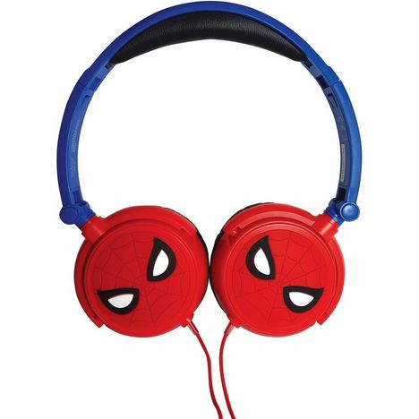 LEXIBOOK Casque audio filaire - Spiderman - HP010