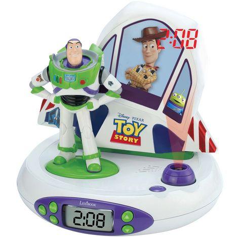 LEXIBOOK Radio Réveil Projecteur RP505TS Toy Story