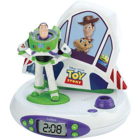 Radio Réveil Projecteur RP505TS Toy Story LEXIBOOK pas cher