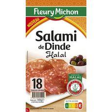 Fleury Michon Salami dinde halal100g