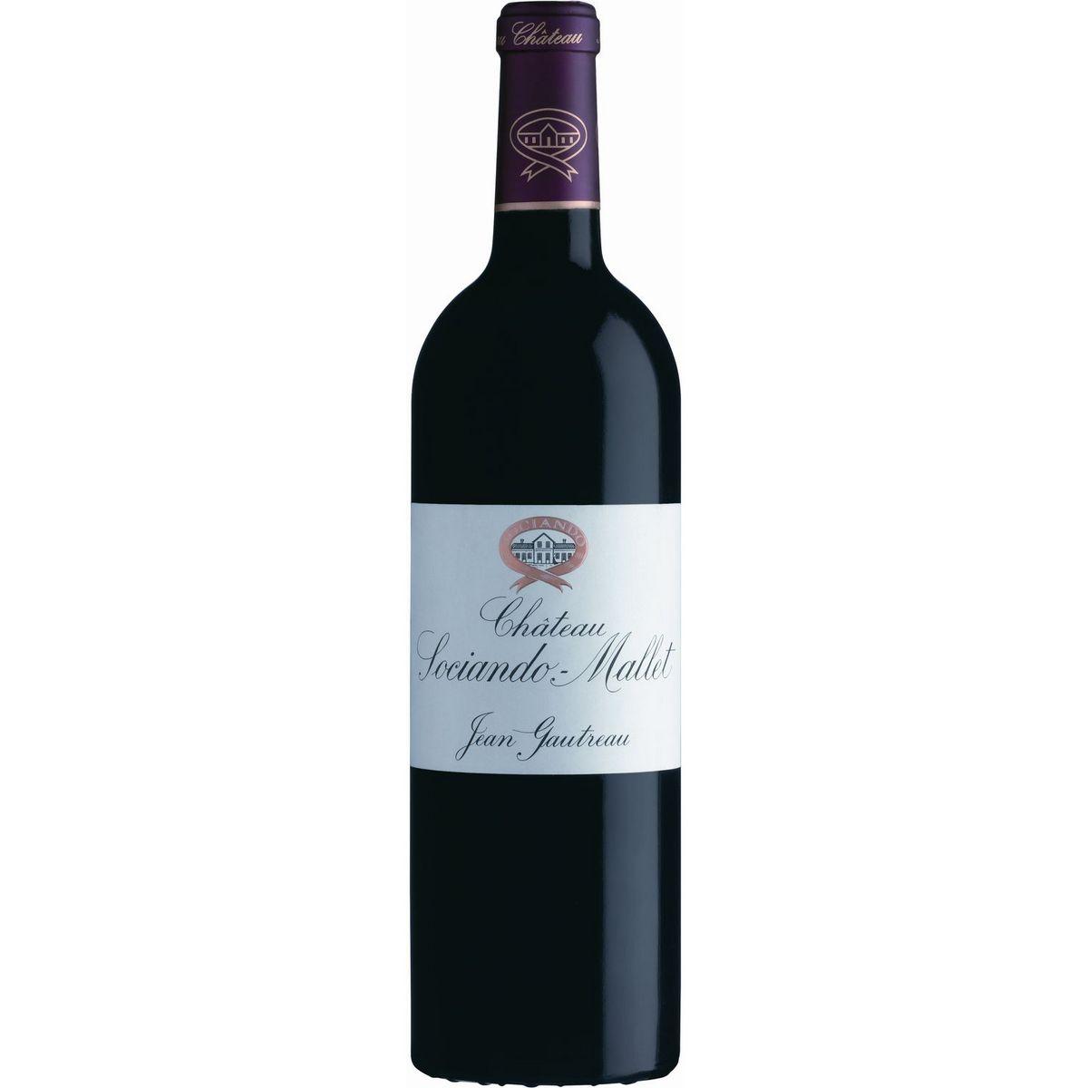 AOP Haut-Médoc Château Sociando-Mallet rouge