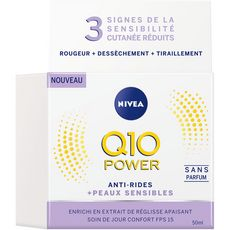 Nivea NIVEA Q10 Power crème hydratante anti-rides peaux sensibles