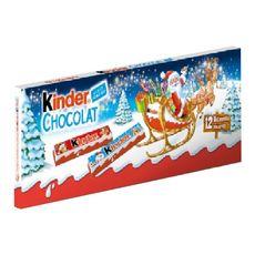 KINDER Kinder Chocolat supérieur au lait avec fourrage au lait 12 barres 150g 12 barres 150g