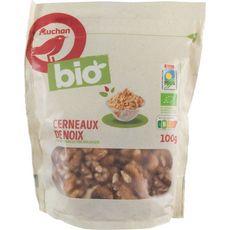 Auchan Cerneaux de noix bio 100g