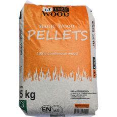 Ltfirewood Pellet 100% résineux en bois de conifères 15kg