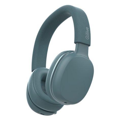 QILIVE Casque audio Bluetooth - Bleu - Q1008