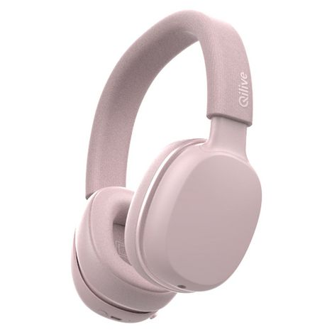 QILIVE Casque audio Bluetooth - Rose - Q1008