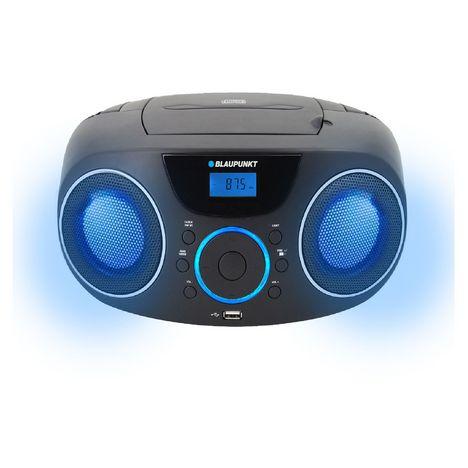 BLAUPUNKT Radio CD Bluetooth - Noir - Boombox BLP8730