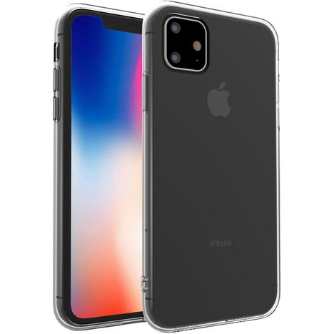 QILIVE Coque de protection pour iPhone 11 pro Transparent