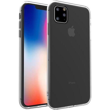 QILIVE Coque de protection pour iPhone 11 pro max Transparent