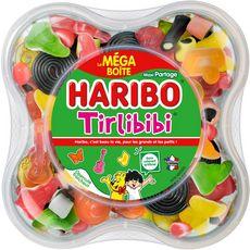 HARIBO Tirlibibi Assortiment de bonbons gélifiés Format familial 1kg