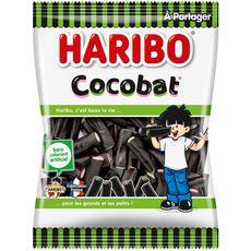 HARIBO Cocobat bonbons gélifiés à la réglisse 300g