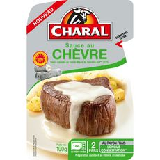 Charal Sauce au chèvre 100g