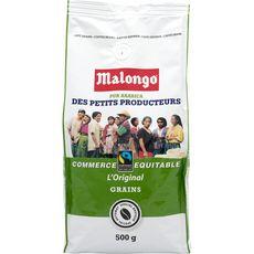 MALONGO Malongo Café en grains des petits producteurs 500g 500g