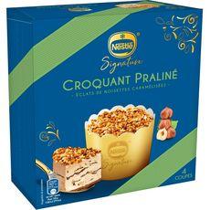 Nestlé Coupe glacée croquant praliné 310g