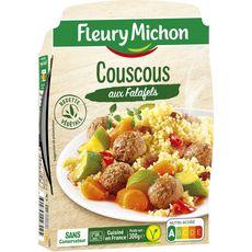 FLEURY MICHON Fleury Michon Couscous végétal aux falafels 300g 1 personne 300g