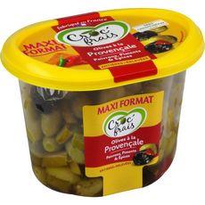 CROC'FRAIS Olives entières à la provençale 550g