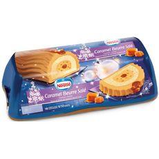 NESTLE Bûche glacée au caramel et beurre salé 9-10 parts 540g