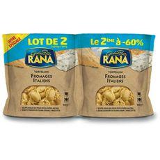 RANA Tortellini aux fromages italiens 2x250g dont 60% sur le 2éme