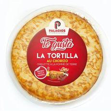 TE GUSTA La Tortilla au chorizo omelette à la pomme de terre  500g
