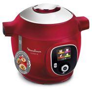 MOULINEX Mijoteur cookeo CE85A510 multicuiseur intelligent 180 recettes - Rouge