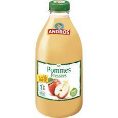ANDROS Andros Jus de pommes pressées 1l +15% offert 1l +15% offert