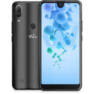 WIKO Smartphone View2 Pro Qwant 64 Go 6 pouces Anthracite 4G Double NanoSIM + Coque de protection