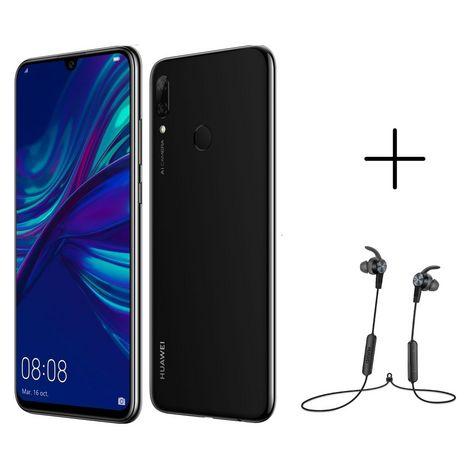 HUAWEI Smartphone P smart 2019 64 Go 6.21 pouces Noir 4G+ Double NanoSIM + Écouteurs AM61