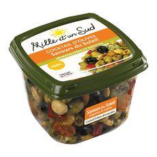 Mille et un Sud olives dénoyautées saveur du soleil 400g
