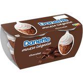 Danone DANETTE Mousse liégeoise au chocolat 4x80g