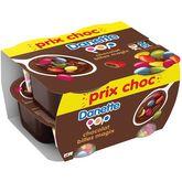 Danone Danette pop choco billes 4x120g prix choc