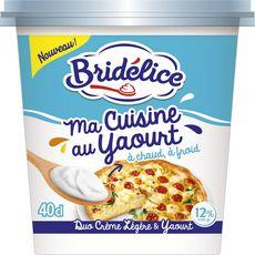 BRIDELICE Spécialité à base de crème légère et de yaourt 12%MG 40 cl