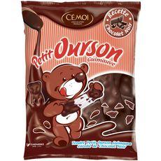 Cémoi petit ourson guimauve au chocolat noir 180g