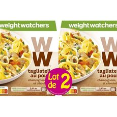 Weight Watchers tagliatelle au poulet 2x300g