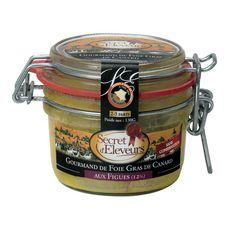 Secret d'Eleveurs Gourmand de foie gras de canard aux figues 130g