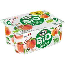 YOPLAIT Panier de Yoplait yaourt bio fruits jaunes 6x110g 6x110g