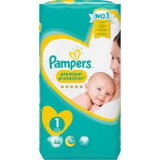 Pampers couches new baby géant 2/5kg x44 taille 1