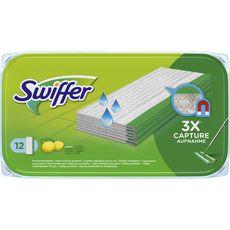 Swiffer Lingettes humide fraîcheur citron x12