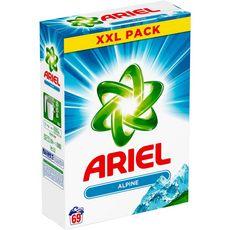 ARIEL Ariel lessive poudre alpine 69 mesures -4.485kg